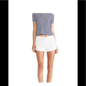 Theory shorts (top and jacket also for sale!)